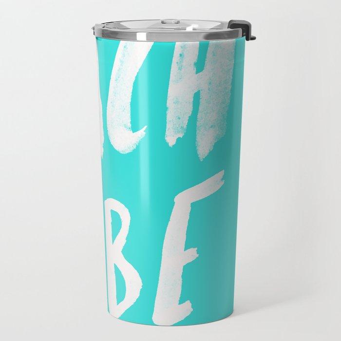 Beach Babe x Teal Travel Mug