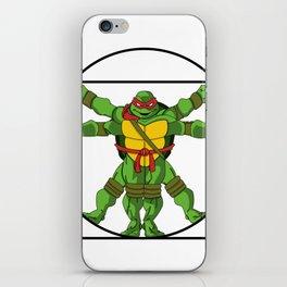 Vitruvian Turtle iPhone Skin