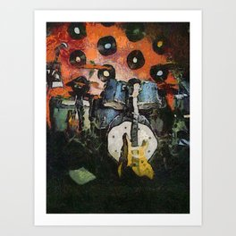 the last gig Art Print