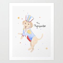 The Pupcracker Art Print