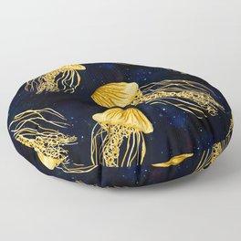 Galaxy Jellyfish Pattern Floor Pillow