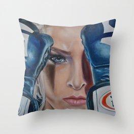Ronda Rousey Throw Pillow