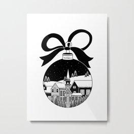 christmas ball Metal Print