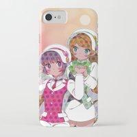 utena iPhone & iPod Cases featuring Yuri Kuma Arashi by Neo Crystal Tokyo