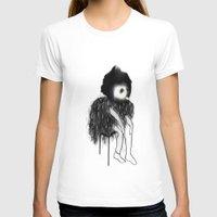 clown T-shirts featuring Clown by Maude Cournoyer