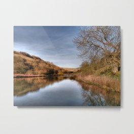 Millington Reflections Metal Print