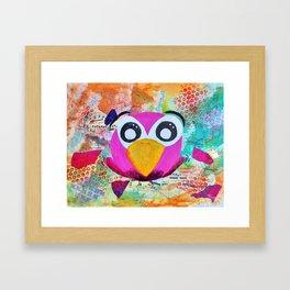 Franco - Quirky Bird Series Framed Art Print