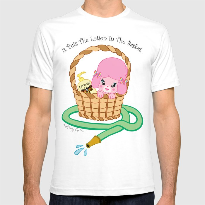 16c26acdfa7a0 It puts the lotion in the basket. // Silence of the Lambs T-shirt