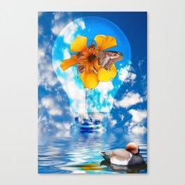 Flowering Bulb Canvas Print