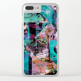 Yer Blues Clear iPhone Case