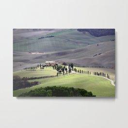 Toscana Metal Print