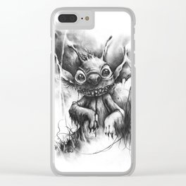 The Revenge of Experiment 626 Clear iPhone Case