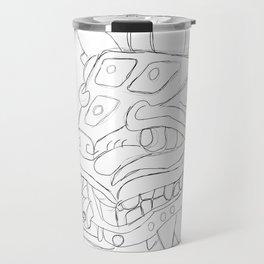 serpiente emplumada Travel Mug