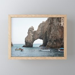 The Arch in Los Cabos Mexico Framed Mini Art Print