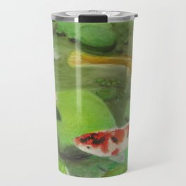 3 Koi Travel Mug