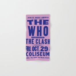 Los Angeles Concert 1982 Hand & Bath Towel