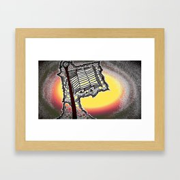 Tribute to my Green Beret Framed Art Print