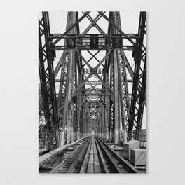 Long Biên Bridge Canvas Print