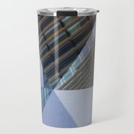 Abstract Architectural Geometric Designs Travel Mug