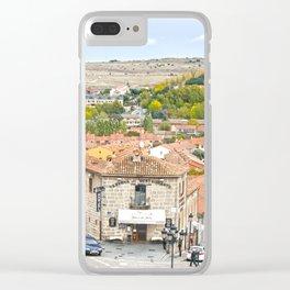 Avila town Clear iPhone Case