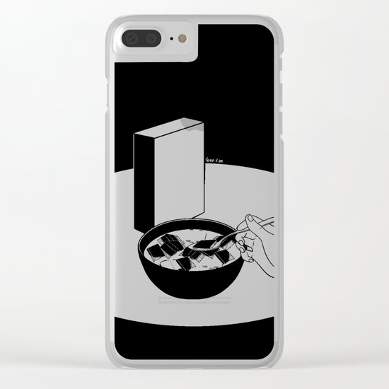 Breakfast for the Soul Clear iPhone Case