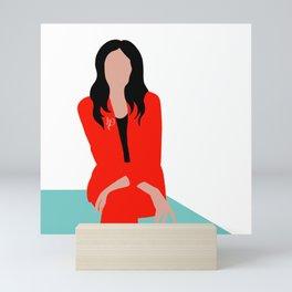 Red Suit Mini Art Print