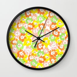 Morning Glory  - Sun Multi Wall Clock