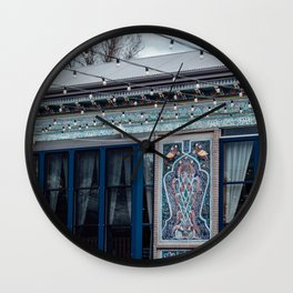 Teahouse Wall Clock