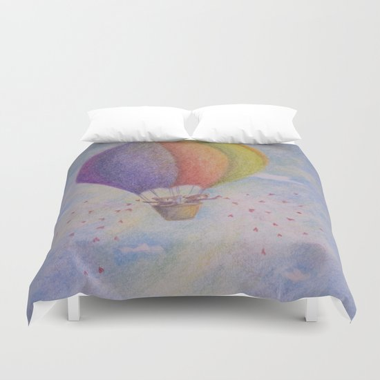Balloon's Bears Duvet Cover