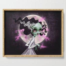 Bride of Frankenstein Serving Tray