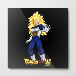 Super Sayan 3 vegeta 0009 Metal Print