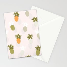 Modern Pineapple Stationery Cards
