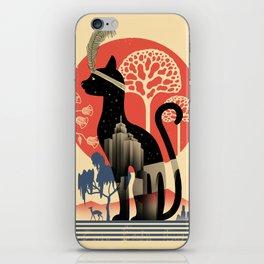 Cat Deco iPhone Skin