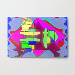 Colorplay 3d Metal Print