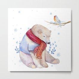 Christmas bear #2 Metal Print