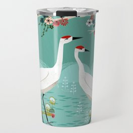 Cranes by Andrea Lauren Travel Mug