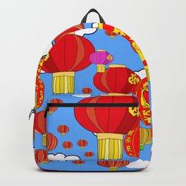 Red Sky Lanterns Backpack