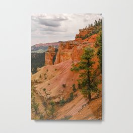 Beautiful Agua Canyon Landscape at Bryce Canyon National Park Metal Print