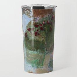 Floral landscape Travel Mug