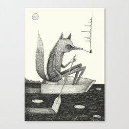 'Across The Lake' Canvas Print