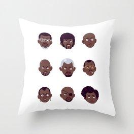 Samojis Throw Pillow