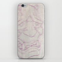 blur iPhone & iPod Skins featuring Blur by Last Call