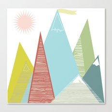 Mountain Peaks! Canvas Print