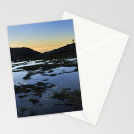 Looking at sunset..... Sierra Nevada National Park Stationery Cards