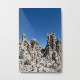 mono lake on blue Metal Print