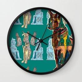 Miu... ('Cat' in old Egyptian) Wall Clock