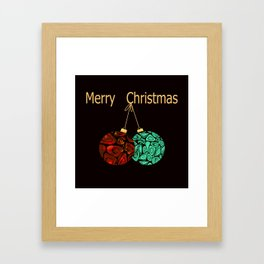 Christmas gift. Framed Art Print