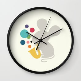 Beyond Words Wall Clock