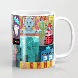 Doctor Who Monsters Coffee Mug