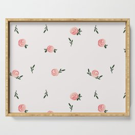 Petite Rose Serving Tray